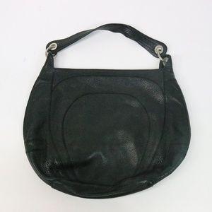 BANANA REPUBLIC Black Cow Leather Bag